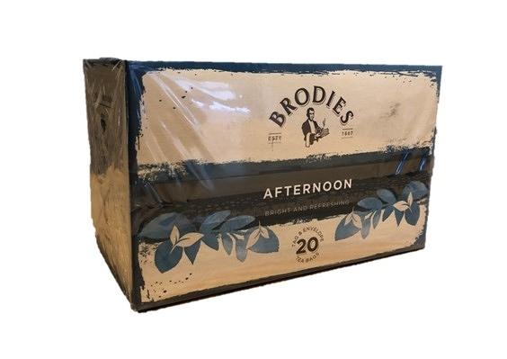金時代書香咖啡 Brodies 蘇格蘭茶 風味茶包 下午茶 Afternoon Tea -錫蘭紅茶