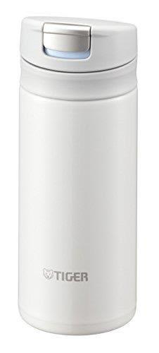 【日本代購】TIGER虎牌 200ml 直飲不銹鋼 迷你超輕保溫杯 SAHARA系列雪白色