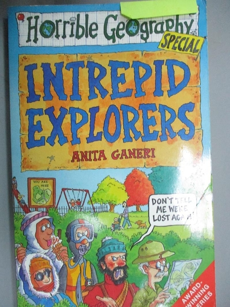 【書寶二手書T4/兒童文學_HNM】Intrepid Explorers_Anita Ganeri