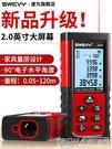 速為紅外線測距儀手持激光尺高精度電子尺量房儀工具平方測量儀『新佰數位屋』
