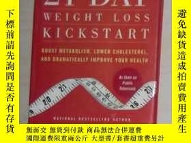 二手書博民逛書店英文原版罕見21-Day Weight Loss Kicksta