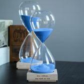 木質底座沙漏30/60分鐘計時器送男女生日交換禮物兒童小朋友創意交換禮物 【618好康又一發】