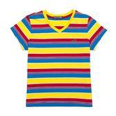 『小鱷魚童裝』跳色條紋T恤(10號~18號)531457