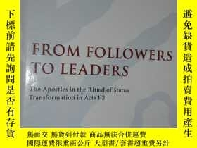 二手書博民逛書店From罕見Followers to Leaders- The