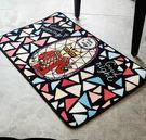 地毯卡通可愛進門入戶門廳玄關地墊