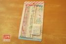SANRIO 三麗鷗家族 卡式文具組 鉛筆+橡皮擦 派對 KRT-212746