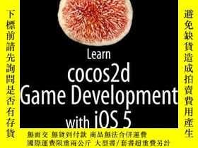 二手書博民逛書店Learn罕見Cocos2d Game Development With Ios 5Y364682 Steff