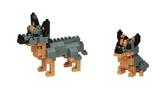 《 Nano Block 迷你積木 》NBC_318澳洲牧牛犬 / JOYBUS玩具百貨