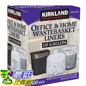 [COSCO代購] W87507 Kirkland Signature 科克蘭  垃圾袋 500入