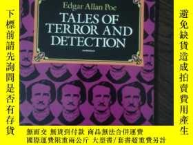 二手書博民逛書店《TALES罕見OF TERROR AND DETECTION》