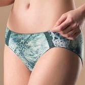 華歌爾-專業運動系列M-LL中低腰三角內褲(勁力綠)透氣包臀-吸濕快乾NS2307-HE