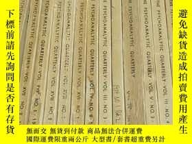 二手書博民逛書店THE罕見PSYCHOANALYTIC QUARTERLY VO