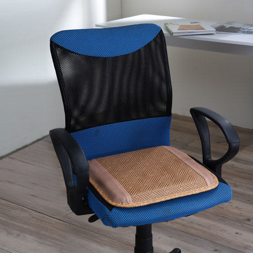 《家購網寢俱館》鋼網式透氣亞藤單人椅墊
