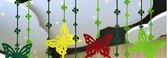 618好康鉅惠春天幼兒園蝴蝶吊飾裝飾游樂場掛飾教室走廊