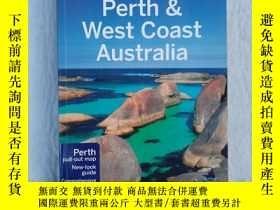 二手書博民逛書店英文原版書:Lonely罕見Planet Perth & West Coast Australia 寂寞星球珀斯和