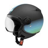 【東門城】ZEUS ZS210C DD82 消光黑綠 3/4罩安全帽