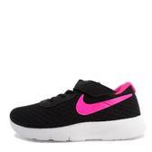 Nike Tanjun TDV [818386-061] 小童鞋 運動 休閒 洗鍊 單純 舒適 黑 桃紅