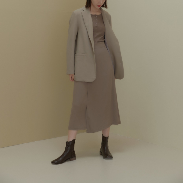 Queen Shop【03020991】雙層側綁帶設計雪紡長裙 兩色售 S/M/L*現+預*