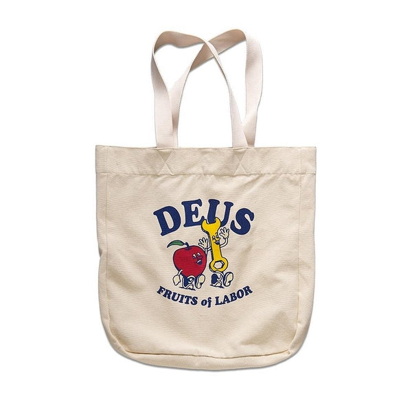Deus Ex Machina   Greasy Tote  手提袋-(米白)