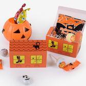 【BlueCat】萬聖節恐怖尖尖鬼屋造型糖果盒 禮物盒 (5入裝)