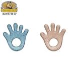 狐狸村傳奇-寶寶手掌型冰涼健齒器 (2色可挑) 96元 【美馨兒】
