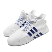 【海外限定】adidas 休閒鞋 EQT Bask ADV 白 藍 男鞋 厚底 復古 運動鞋 【PUMP306】 BD7782