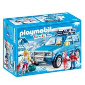 playmobil 滑雪系列 SUV度假車_PM09281