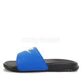 Nike Benassi Jdi Mismatch [818736-074] 男鞋 拖鞋 涼鞋 輕量 舒適 避震 緩衝 藍 黑