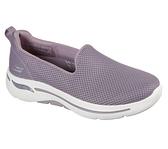 Skechers Go Walk Arch Fit [124401MVE] 女鞋 運動 休閒 步行 健走 避震 緩衝 紫