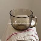 熱賣玻璃杯 creepin茶色胖胖杯玻璃杯超大容量耐熱麥片杯早餐杯燕麥杯酸奶杯 coco