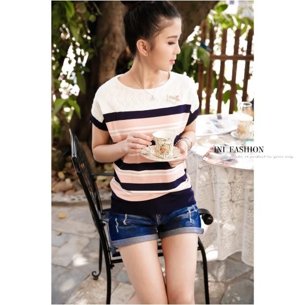 【INI FASHION】獨特質感連袖舒適針織上衣.三色