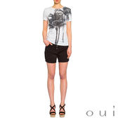 oui 椰子樹短袖T恤