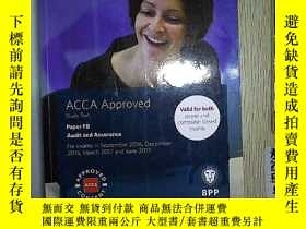 二手書博民逛書店ACCA罕見F8 Audit and Assurance: St