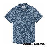 BILLABONG SUNDAY MINI 短袖襯衫 (印花藍) 【GO WILD】