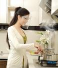 【NF252炒菜防油濺面罩】餐飲專用防霧微笑塑膠廚房廚師食品飯店酒店餐廳 防護面具廚房防霧防