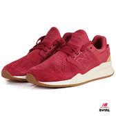 New Balance 新竹皇家 247 復古色系 紅色 麂皮 套入式 運動鞋 男女款 NO.A9897