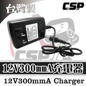 充電器 12V300mmA