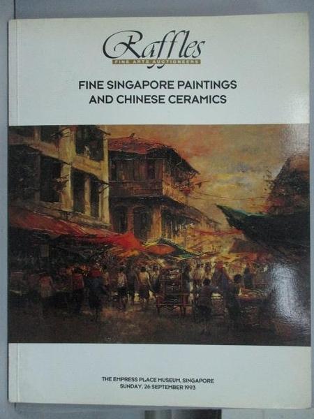 【書寶二手書T5/收藏_YIW】Raffles_Fine Singapore Painting and Chinese