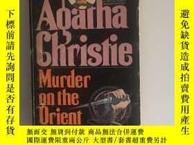 二手書博民逛書店Murder罕見on the Orient Express 東方快車謀殺案Y398001 阿加莎克裏斯蒂 po
