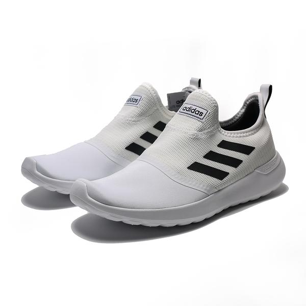 ADIDAS LITE RACER SLIPON 白黑 襪套 無鞋帶 休閒 慢跑鞋 男(布魯克林) 2019/5月 F36665