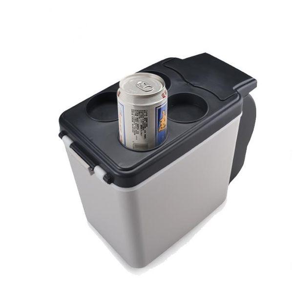 汽車車載冰箱冷暖迷你小冰箱便攜式車用6L冷藏箱保溫箱12V24V TW【全館滿888限時88折】