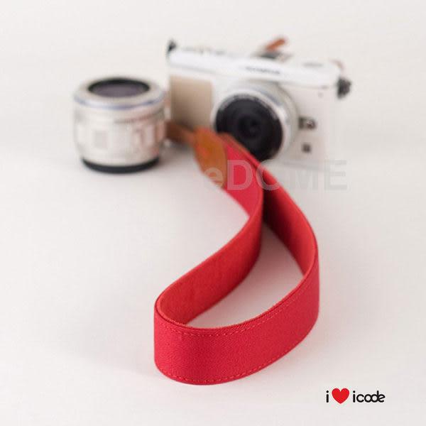 icode Public 30 韓國幸運草相機背帶 淘氣紅 (湧蓮國際公司貨) 彩色亮麗肩帶