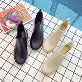 時尚防水防滑膠鞋套鞋中筒水鞋成人水鞋韓版雨鞋女IP864『愛尚生活館』