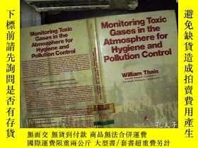 二手書博民逛書店monitoring罕見toxic gases in the a