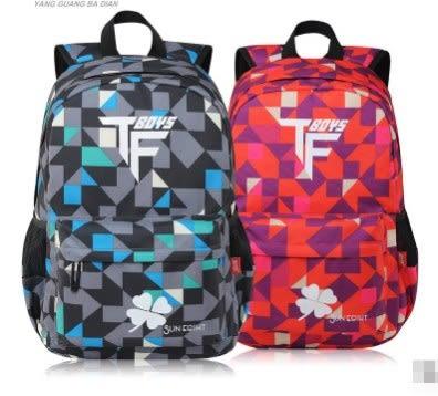 預購-tfboy高年级5-6年級青少年雙肩後背包
