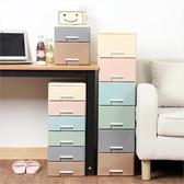 桌面收納盒抽屜式辦公學生雜物儲物盒【叮噹百貨】