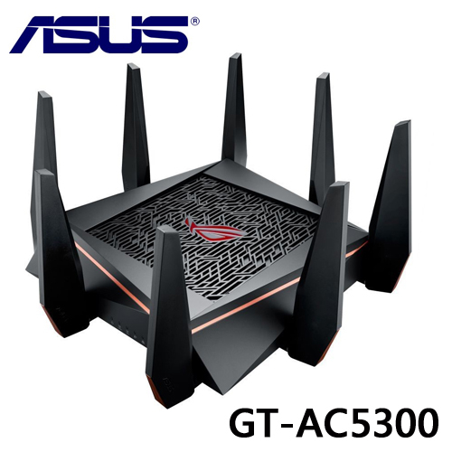 ASUS 華碩 ROG RAPTURE AC5300 GT-AC5300 電競專用 三頻 無線分享器