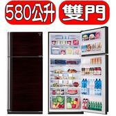 結帳更優惠★SHARP夏普【SJ-PD58V-BK】583公升除菌離子雙門冰箱
