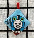 【震撼精品百貨】湯瑪士小火車_Thomas & Friends~湯瑪士手機吊飾/螢幕擦-淺藍菱形#05048