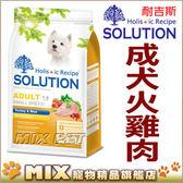 ◆MIX米克斯◆【買一送一】送同款1.5kg 新耐吉斯.成犬火雞肉+田園蔬果7.5公斤狗飼料.